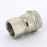 Муфта пресс-В нержавеющая сталь Sanpress Inox VIEGA 28х3/4'