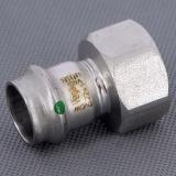 Муфта пресс-В нержавеющая сталь Sanpress Inox VIEGA 22х1'