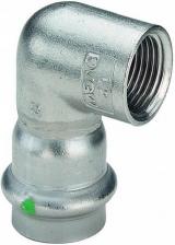 Угол пресс-В компактный нержавеющая сталь Sanpress Inox VIEGA 22x3/4