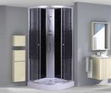 Душ.каб. NG- 4501-08BK BLACK (900х900х2000) низкий поддон(13см) стекло МОЗАИКА 3 места