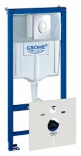 Система инсталляции для унитазов Grohe Rapid SL 4 в 1 с кнопкой смыва