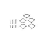 Baxi Кронштейны для крепления труб к стене (5 шт.) для труб диам. 80 мм