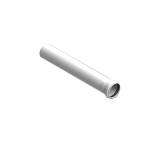 STOUT Элемент дымохода конденсац. труба 500 мм DN80 м/п PP-FE